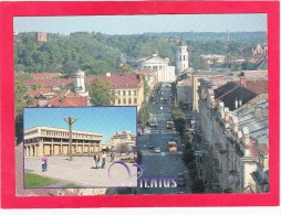 Multi View Post Card Of Vilnius, Vilniaus, Lithuania,U9. - Lithuania
