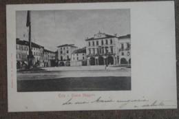 ESTE  -PIAZZA MAGGIORE -1904 ------ FP---- BELLISSIMA- - Italia