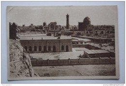 BUKHARA. Aerial View Of The City . Old Market. - Vintage USSR PC 1920s - Uzbekistan