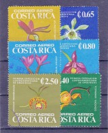 COSTA RICA   - 1975 Mi. Nrs.892, 899, 900, 903, 906 Et/en 910  - ORCHIDEEEN  - ° - Costa Rica