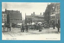 CPA  Marchands Ambulants Marché GAND Belgique - Belgique