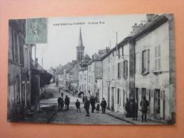 FONTENAY-EN-PARISIS  Grande Rue- Cpa Animée - Autres Communes