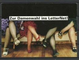 DEUTSCHLAND 2000 Advertising Postcard Werbepostkarte Letter Net Nach Estland Gesendet - Advertising