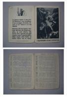 """Calendario/calendarietto """"1943 Anno XXI"""" A Cura Dello Stato Maggiore Regio Esercito (guerra) - Calendari"""
