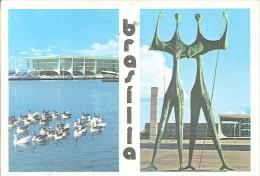 CPSM Brésil - Brasilia - Palacio Planalto - Brasilia