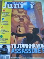 Science et vie junior - N� 159 - D�cembre 2002 - Toutankhamon - NEUF