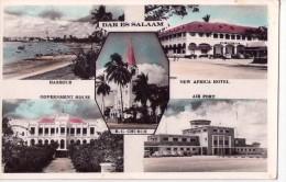 TANZANIE - Dar Es Salaam - Harbour New Africa Hotel Government House - Air Port - Multivues - Tanzanie