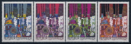 **Österreich Austria 2000 ANK 2352-55 Mi 2318-21 (4) Hundertwasser Painting MNH - 1945-.... 2nd Republic
