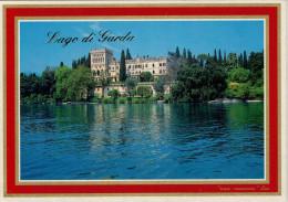 LAGO  DI  GARDA   ISOLA DI GARDA     MAXI  CARD  12X17    (NUOVA) - Italia