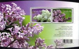 MBP-BK2-417 MINT � CANADA 2007 BLOCK � FLOWERS OF THE WORLD - FLEURS - BL�MEN - BLOEMEN - FLORES -