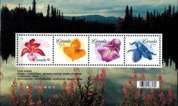 MBP-BK2-416 MINT � CANADA 2006 4w in serie � ORCHIDS OF THE WORLD - FLEURS - BL�MEN - BLOEMEN - FLORES -