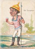 Chromo Humour Caricature Le Canotier Tapioca Naturel A. MAUPRIVEZ - Autres