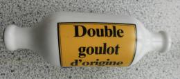 """BOUTEILLE CERAMIQUE """"OPEL"""" ANNEE 1970 - MODELE UNIQUE - Publicité"""