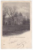 SURGERES - Château - Porte Monumentale. Carte Précurseur. - France
