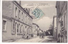 AIGREFEUILLE  - L'Hôtel De Ville. Belle Carte Animée. - France