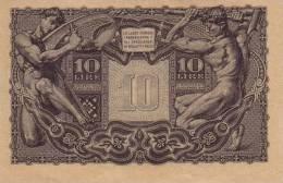 ITALY  P. 32c 10 L 1944 UNC - [ 1] …-1946 : Koninkrijk