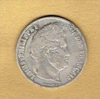 5 Francs Louis Philippe 1er 1837w - France