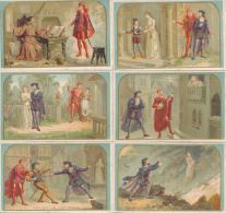 Série De 6 Chromos Chicorée A La Belle Jardinière BERIOT Lille FAUST Opéra - Altri