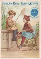Superbe Chromo Amidon Remy Enfants Et Jouets Cerceau - Autres