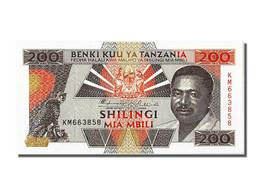 Tanzanie, 200 Shillingi Type Mwinyi - Tanzanie