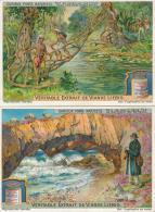 Lot 2 Chromos Liebig Série S1057 1912 Curieux Ponts Naturels - Liebig