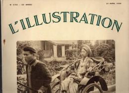 L' ILLUSTRATION - Mariage Impérial En Annam -  Au Dos Publicité Byrrh -  21 Avril 1934 - Zeitungen