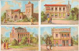 Lot De 12 Chromos Exposition Universelle De Paris 1878 - Autres