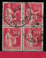 @ Y&T  N° 283    Perfore  C.L 225   Indice  2   BLOC DE 4 - Perforés