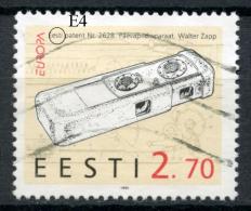ESTLAND ESTONIA 1994 Europa CEPT Michel 234 Patents Minicamera Walter Zapp ERROR E:4 - Estonia