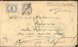 Lettre De Buenos Aires Vers Torino Italie : Taxé à Torino Et Gassino Aumbulant Modano-Torino Et Outre-mer Paris J55 - Postage Due