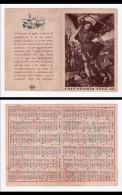Calendario 1942 - XX Esercito Italiano U.P.R.E. (San Michele) - Calendari