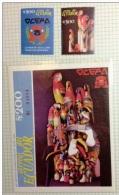 Ecuador MNH Stamp Sc#1252/3 S/s And Stamp Bird Artisan Parrot  Tucan - Oiseaux