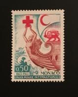 MONACO - 1963 - N°607-N°608 - Unused Stamps
