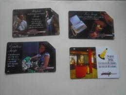 Phonecards  Italia   4 Pcs    - D137276 - Télécartes