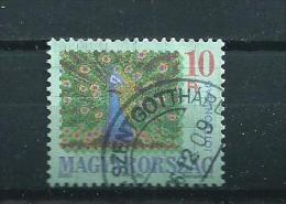 2001 Hungary Pauw,oiseaux,vögel Used/gebruikt/oblitere - Hongarije