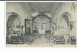 30 VERGEZE  Intérieur De L'Eglise - Vergèze