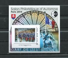FRANCE  LUXE  BLOC  CNEP  SALON  PHILATELIQUE  D'  AUTOMNE  PARIS 2014 - 1853-1860 Napoléon III