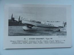 CARTE POSTALE POSTCARD COUZINET 101 - 1919-1938: Entre Guerres