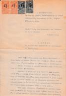 WW1 - Charles Antoine CHARPY (1869-1941) Général De Division - Avril 1920 GUMULDJINA (Turquie) - CONTESTATION Auprès Du - Documenti Storici
