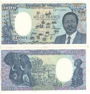 CAMEROUN 1'000 Francs ,  P26b   01.01.1990   UNC - Kameroen