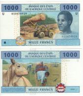 CAMEROUN 1'000 Francs , Central African States P207U   2005   UNC - Camerun