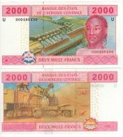 CAMEROUN 2'000 Francs , Central African States P208U   2000   UNC - Camerun