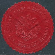 Austria-Hungary Autriche-Hongrie PATRAS Greece Griechenland CONSULAT Consular Letter Seal Siegelmarke Vignette - Autres