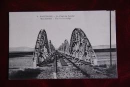 MACEDOINE - Le Pont Du VARDAR - Mazedonien