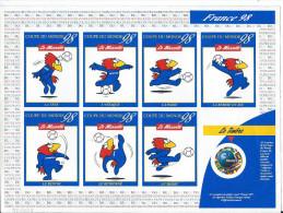France 1998 Bloc Feuillet Neuf Avec  N° 3140 Commémoration Coupe Du Monde Football Cote 20 Euros - Fußball-Weltmeisterschaft