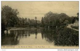 27 LOUVIERS Les Bords De L'eure Le Pont Noir - Louviers