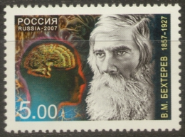 2007 1v Russia Russland Russie Rusia 150th Anni Of V.M.Bekhterev The Psychoneurologist - Medicine Mi 1391 MNH - Nuovi