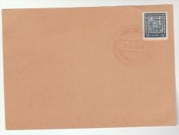 1939  CZECHOSLOVAKIA COVER (card)  BRNO EVENT Pmk Stamps Bear Heraldic Lion - Czechoslovakia