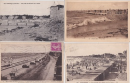16 / 2 / 181   - LOT  DE4  CPA  &  I  CPSM  DU  PORNICHET  (  44 )   Toutes Scanées - Cartoline