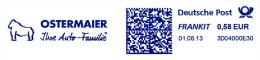 Freistempel 0633 Gorilla - Poststempel - Freistempel